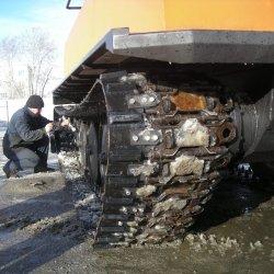 Уширитель гусеницы для машин ГАЗ-71